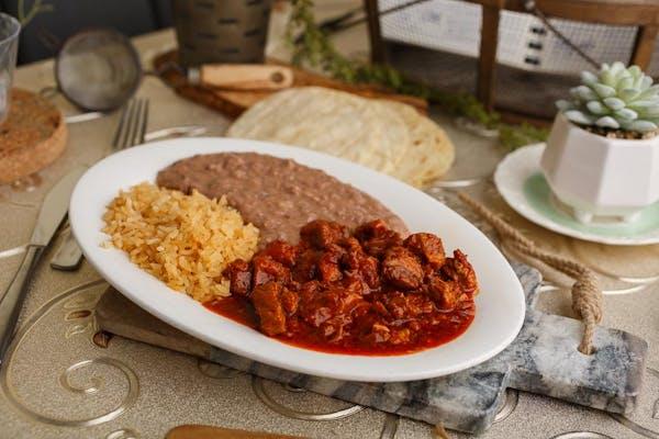 6. Beef Steak in Ranchero Sauce