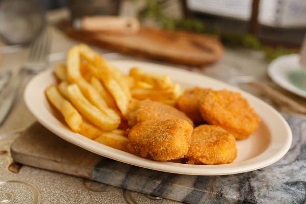 13. Chicken Nuggets with Fries