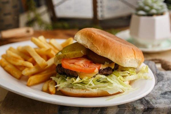 14. Hamburger with Fries