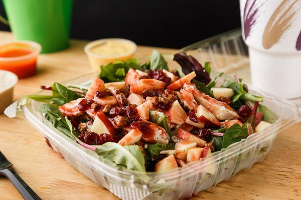 Apple Cranberry Grilled Chicken Salad