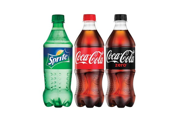 Bottled Coke Product