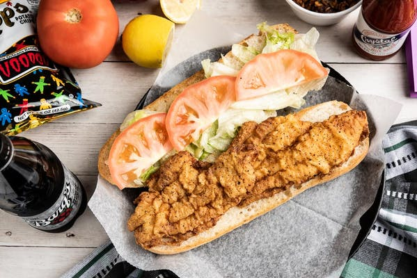 Fried Catfish Po-Boy