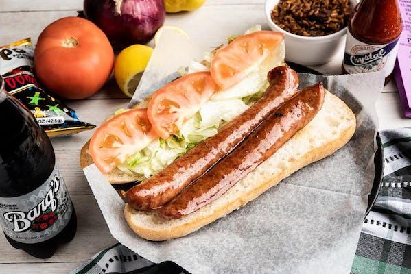 Conecuh Sausage Po-Boy