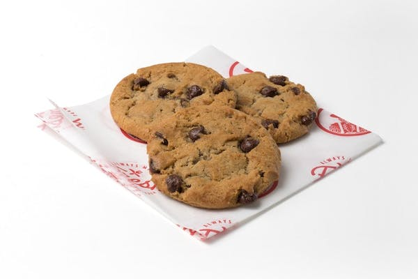 3 Homestyle Chocolate Chip Cookies