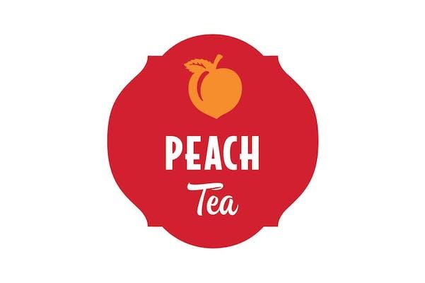 Large 32oz Peach Tea