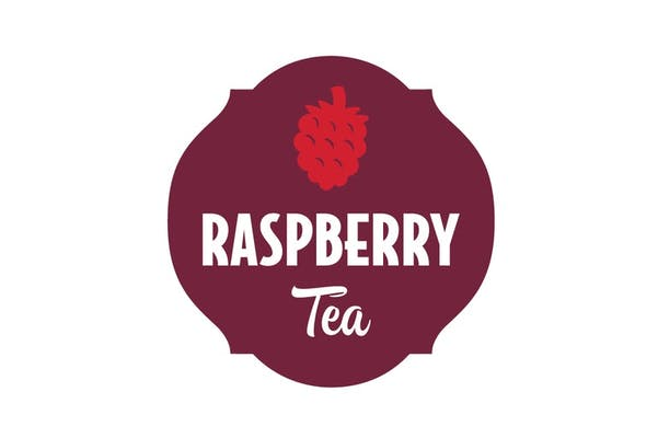 Large 32oz Raspberry Tea