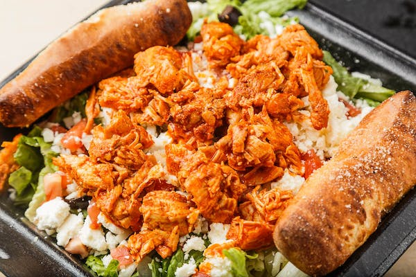 Buffalo Chicken Salad & Sticks