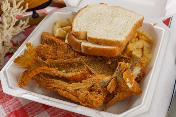Croaker Sandwich