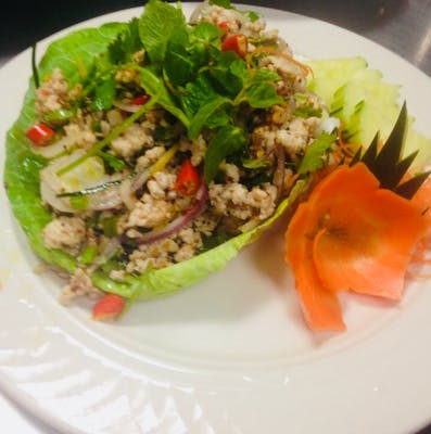 Larb Salad & Rice