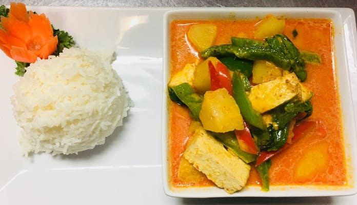 Pineapple Curry & Rice