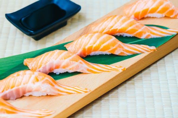 Salmon Nigiri & Sashimi