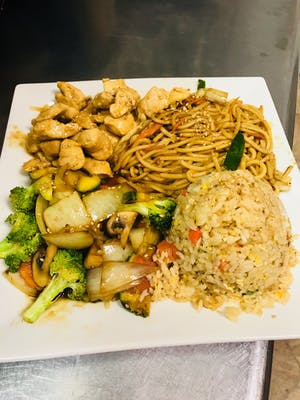 Teriyaki Chicken Hibachi Dinner