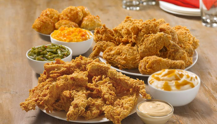 (9 pc.) Mixed Chicken & (12 pc.) Tender Strip Meal