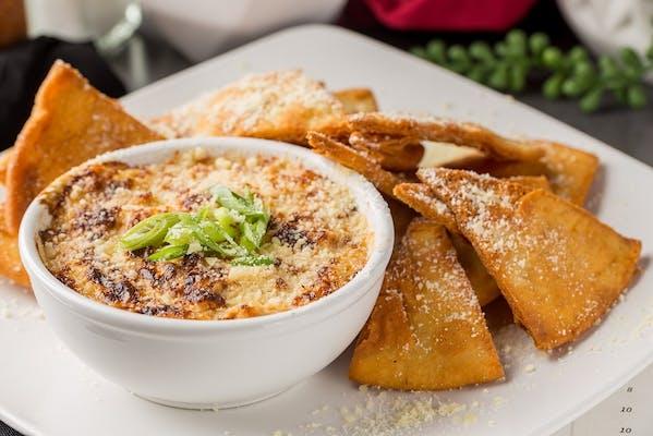 Crab Dip & Pita Chips