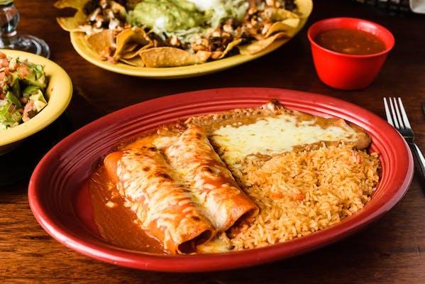 32. Enchiladas Dinner