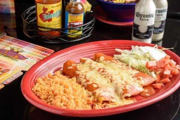 34. Enchiladas Rancheras