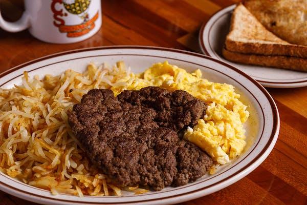 Chopped Steak & Eggs