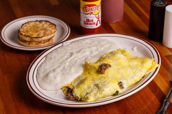 Philly Cheese Steak Omelette