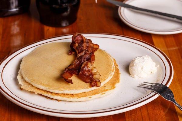 Kid's Pancakes & Bacon