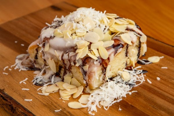 Joyful Almond Cinn Roll
