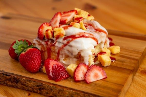 Strawberry Cheesecake Cinn Roll