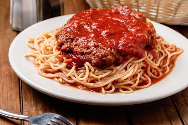 Spaghetti Lunch Special