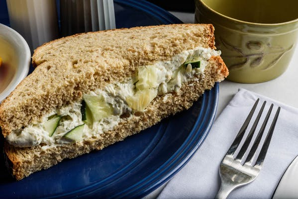 Cucumber Sandwich Meal