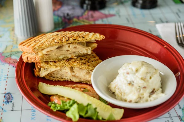 Turkey Ranch Panini Meal