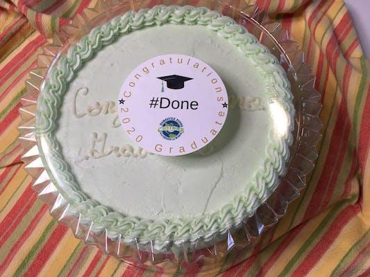 Signature Congratulations Graduate Cake