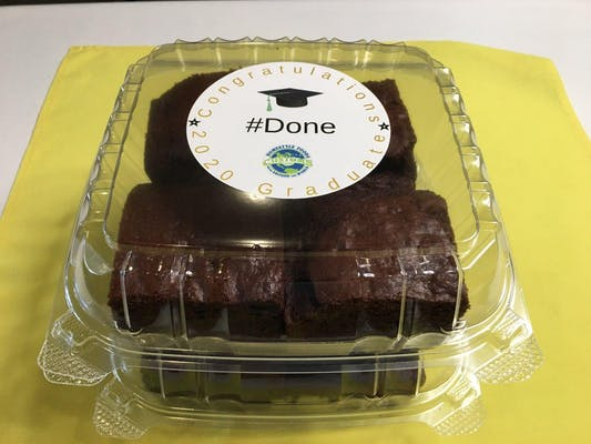 Congratulations Graduate Brownie Box