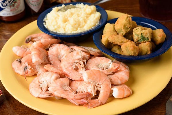 Boiled Shrimp Plate