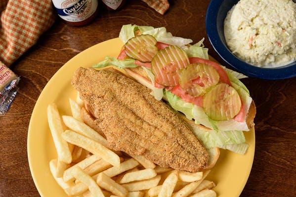 Fish Filet Sandwich Plate
