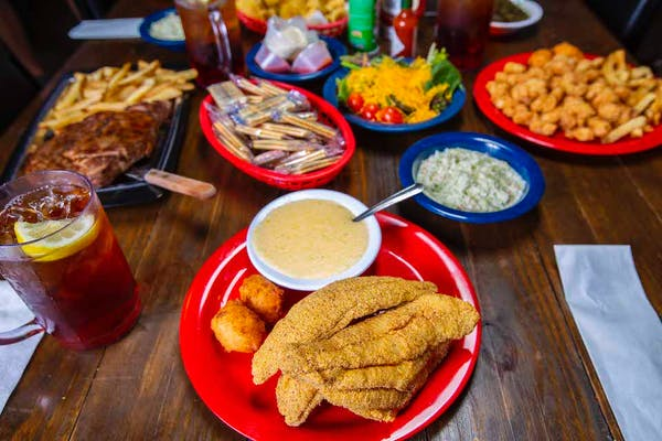 Filet & Shrimp Plates