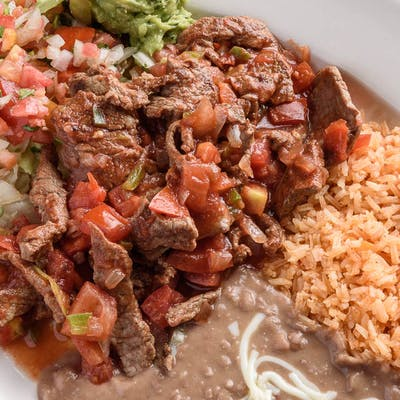 Steak a la Mexicana