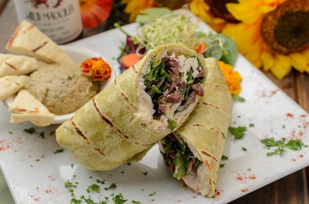 Mediterranean Turkey Wrap