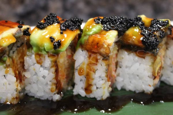 1. Black Dragon Roll