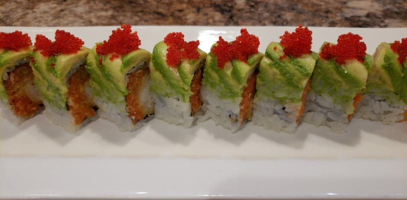 2. Green Dragon Roll