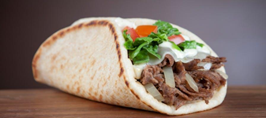 Steak Gyro Wrap
