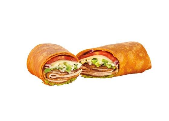 Turkey Bacon Guacamole Wrap
