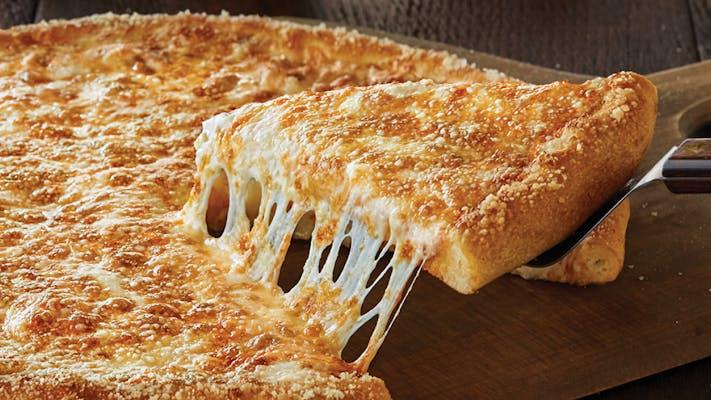 White Cheezy Pizza