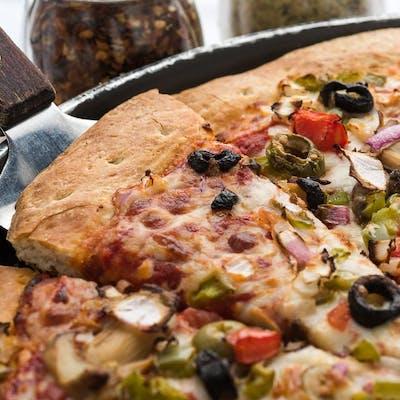 Vegetarian Sampler Pizza