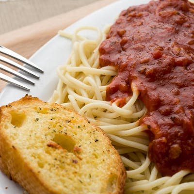 Spagatti® with Meat Sauce