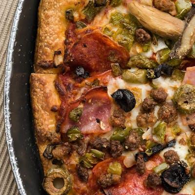 Half & Half Favorites Pizza (Large)