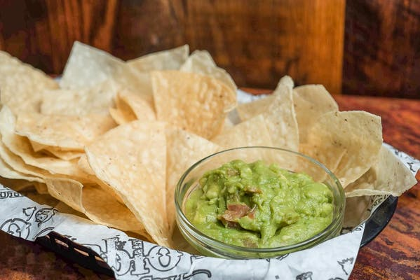 Side of Guacamole & Chips