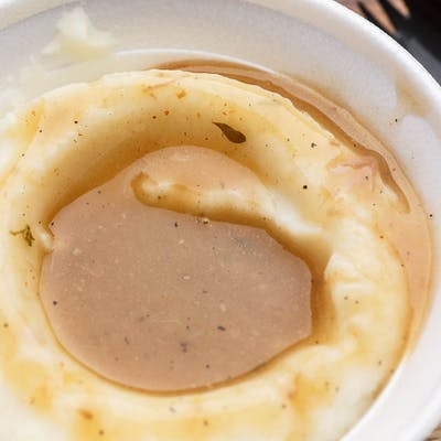 Side of Mashed Potatoes with Gravy