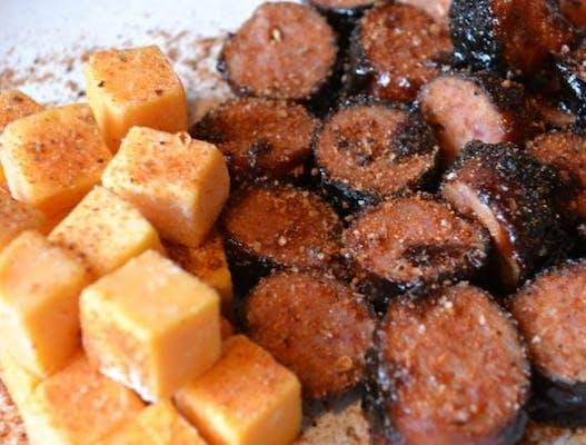 Smoked Sausage & Cheese Basket