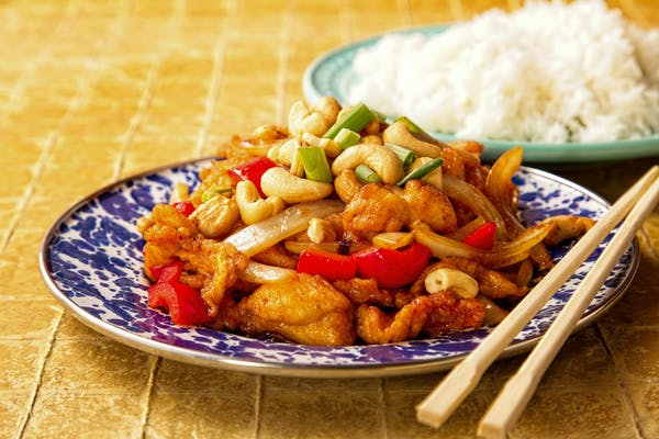 Stir Fry Cashew Chicken