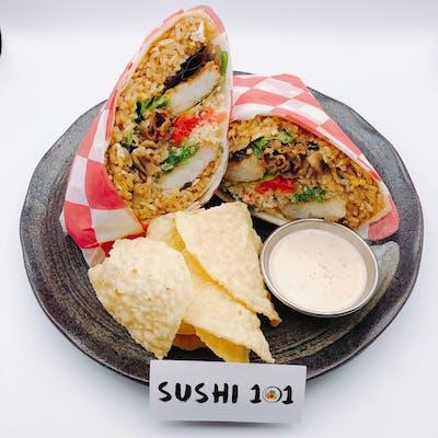 Crunchy Bulgogi Burrito