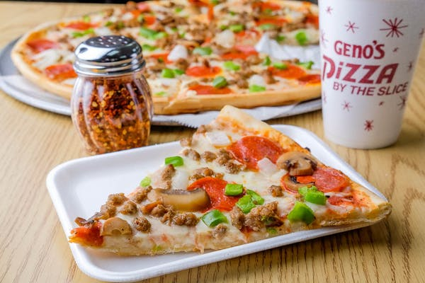 Supreme Pizza Slice
