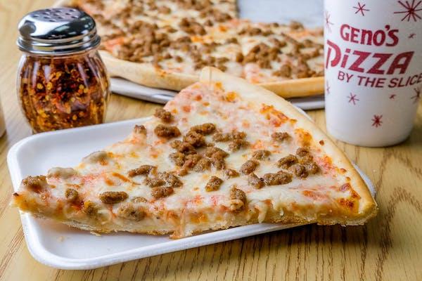 Sausage Pizza Slice